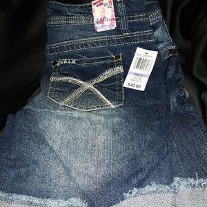Wallflower Jean shorts, NWT